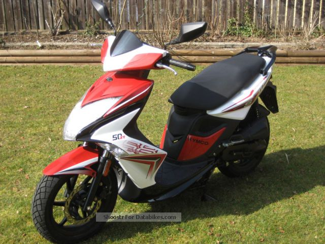 2013 Kymco  Super 8 50 2T Motorcycle Scooter photo