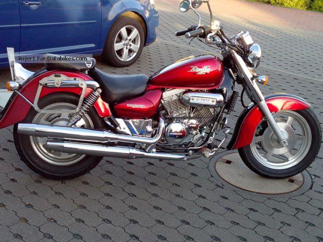2002 Hyosung  GM-250 Motorcycle Chopper/Cruiser photo