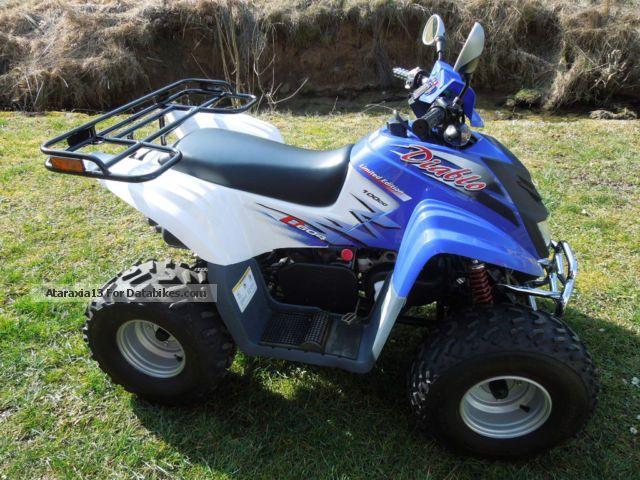 2007 Dinli  Diablo Quad 100 cc Motorcycle Quad photo