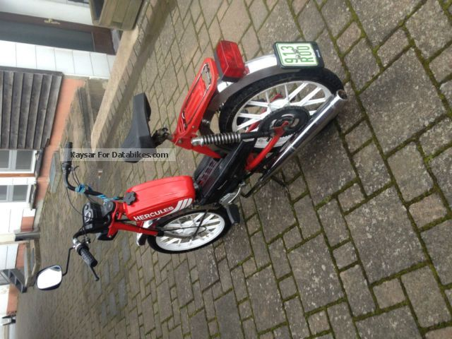 1986 Herkules  Prima 5 Motorcycle Motor-assisted Bicycle/Small Moped photo