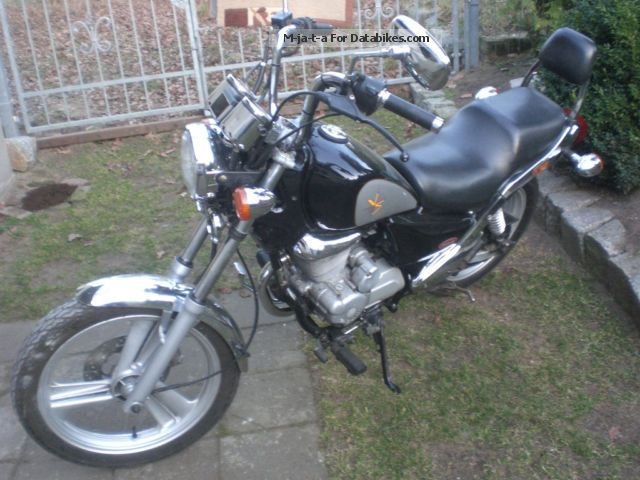 2003 Daelim  125 Motorcycle Motorcycle photo