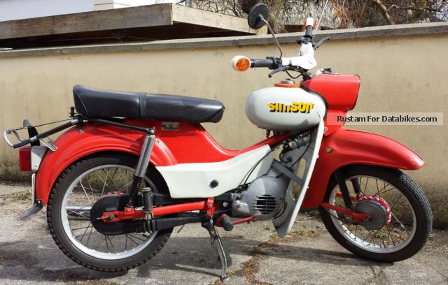 1983 Simson  Star Motorcycle Motor-assisted Bicycle/Small Moped photo