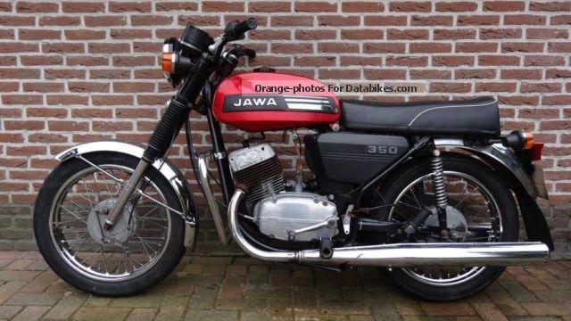 1985 Jawa  634 350 634/7-02 Motorcycle Motorcycle photo