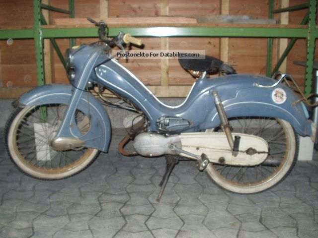 DKW  Hummel Scheunenfund 1965 Vintage, Classic and Old Bikes photo