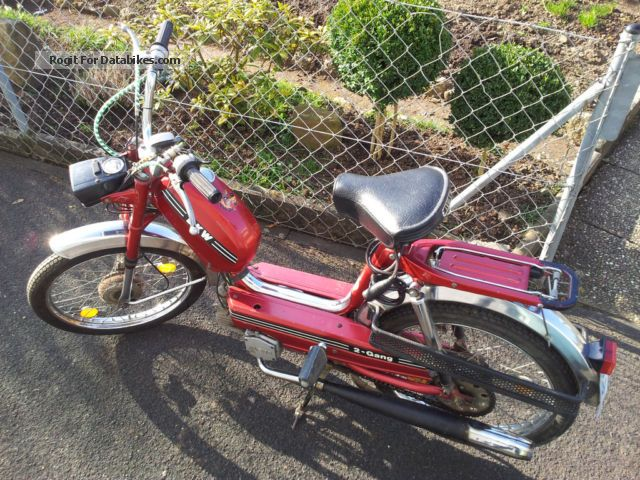 1977 DKW  535 / Sachs 505/2 Ausf B A Motorcycle Motor-assisted Bicycle/Small Moped photo