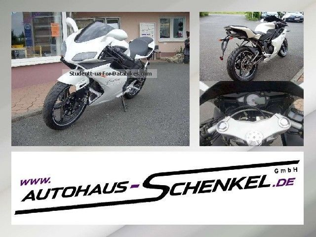 2012 Hercules  Megelli 125 Super Sport Motorcycle Motor-assisted Bicycle/Small Moped photo