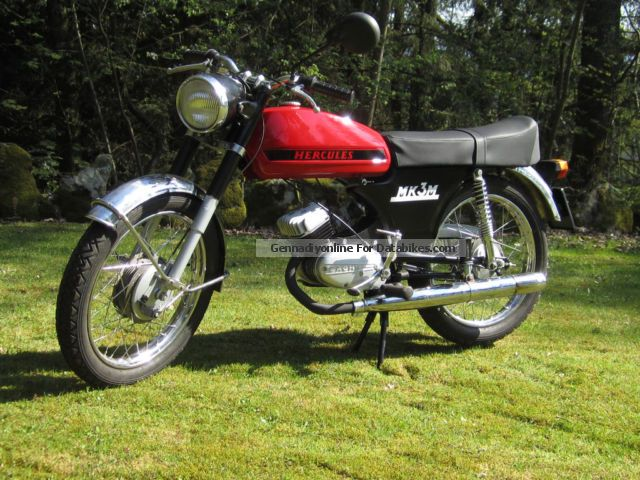 Hercules  MK3M 1972 Vintage, Classic and Old Bikes photo