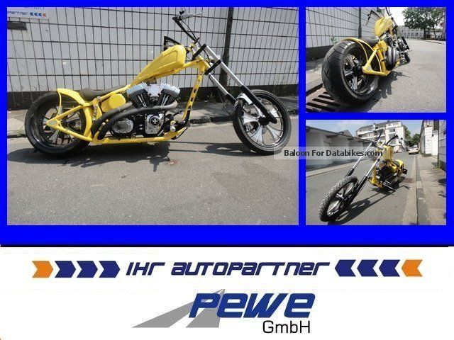 2007 Harley Davidson  Harley-Davidson Chica Caliente Chopper Custom Chopper Highneck Motorcycle Chopper/Cruiser photo