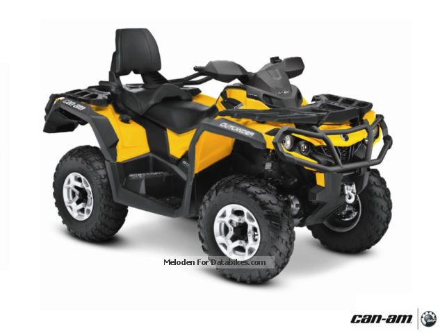 BRP  Can-Am Outlander MAX 800 \ 2012 Quad photo