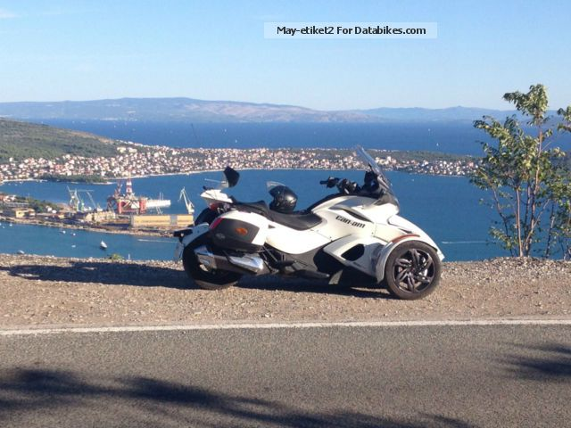 2012 Can Am  Spyder ST LTD SE5 Motorcycle Other photo
