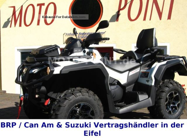 2014 Can Am  Outlander LIMITED 1000, 2014; With LOF conversion! Motorcycle Quad photo
