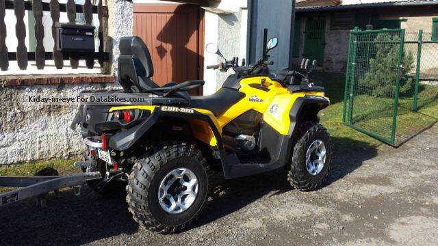 2013 Can Am  ATV Motorcycle Quad photo