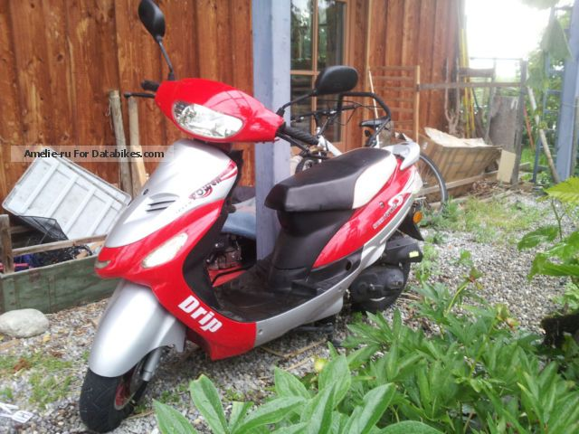 2009 Baotian  BT50QT-16 only 1744 KM 2.26 KW Motorcycle Scooter photo