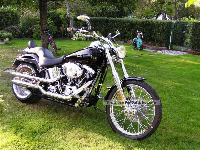 2000 Harley Davidson  Harley-Davidson Deuce Motorcycle Chopper/Cruiser photo