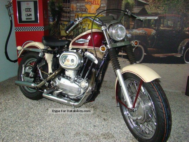Harley Davidson  Harley-Davidson XLCH Ironhead 900 1967 Vintage, Classic and Old Bikes photo