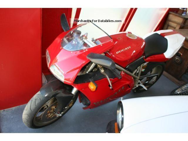 1994 Ducati  916 SP Motorcycle Racing photo