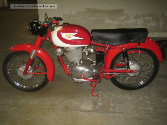Moto Morini  Tresette 175 1957 Vintage, Classic and Old Bikes photo