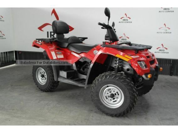 2008 Adly  400 bi-place Motorcycle Quad photo