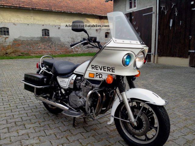 2012 Zero  Kawasaki Z 1000 Police Motorcycle Tourer photo