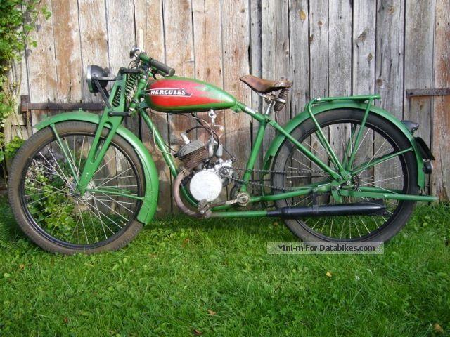 1938 Hercules  Sachs Motorcycle Motorcycle photo