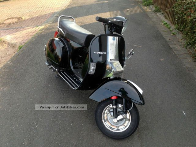 piaggio vespa px 80 lusso elestart 177cc scooter car. Black Bedroom Furniture Sets. Home Design Ideas