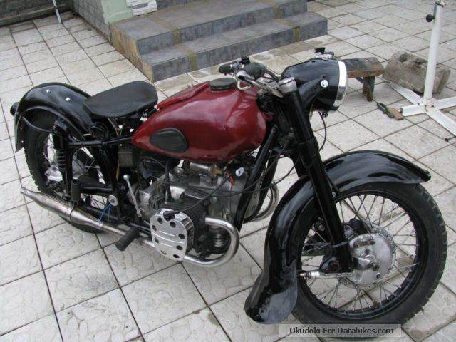 Ural  FIRST K 750 MOLOTOV BJ 1957 GENERAL OBSOLETE! 1962 Vintage, Classic and Old Bikes photo