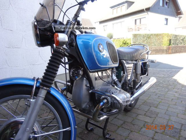 BMW  R 50/5 1970 Vintage, Classic and Old Bikes photo
