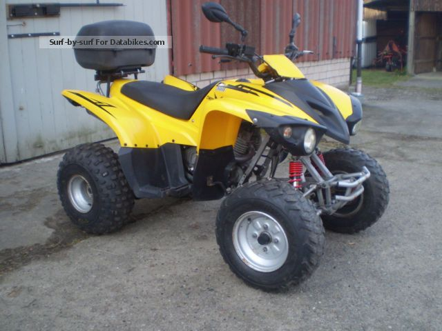 2008 Adly  300 Cross Road Sentinel Motorcycle Quad photo