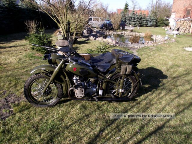 Ural  M72 1961 Vintage, Classic and Old Bikes photo