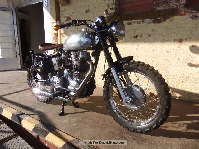 2008 Royal Enfield  Bobber Special Motorcycle Motorcycle photo