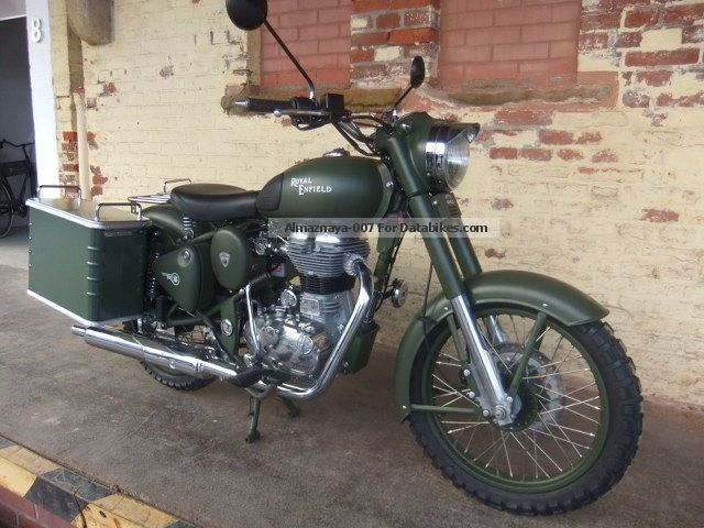 2012 Royal Enfield  Adventure Military Motorcycle Motorcycle photo