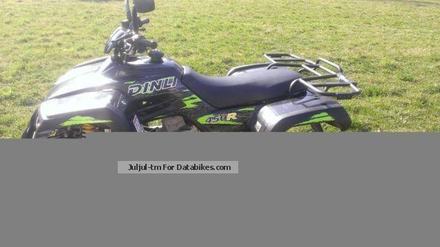 2012 Dinli  Quad Motorcycle Quad photo