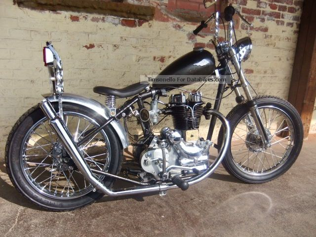 1954 Royal Enfield  Rigid Frame Chopper Motorcycle Chopper/Cruiser photo