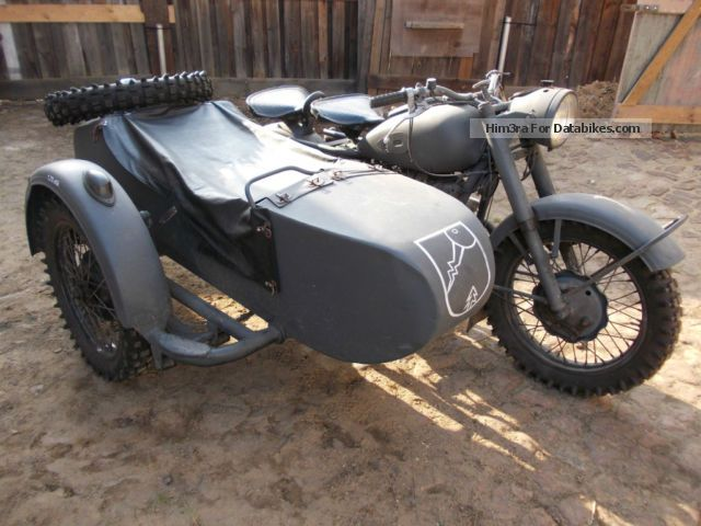 Ural  K650 Oldtimer electronic ignition sidecar 1958 Vintage, Classic and Old Bikes photo
