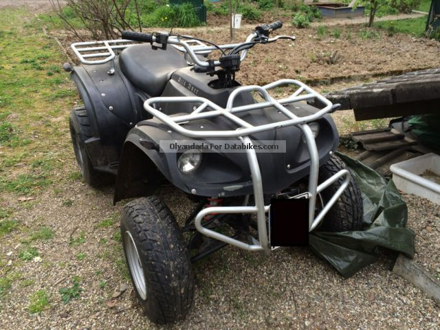 2005 Adly  150 Utility Motorcycle Quad photo