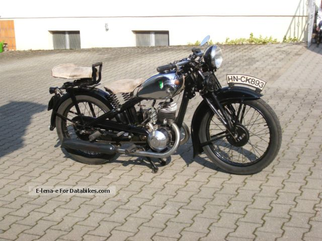 DKW  SB 200 1933 Vintage, Classic and Old Bikes photo