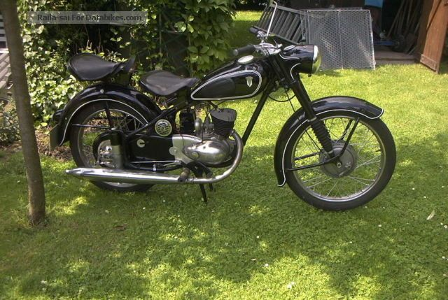 DKW  RT125 2 / H 1956 Vintage, Classic and Old Bikes photo