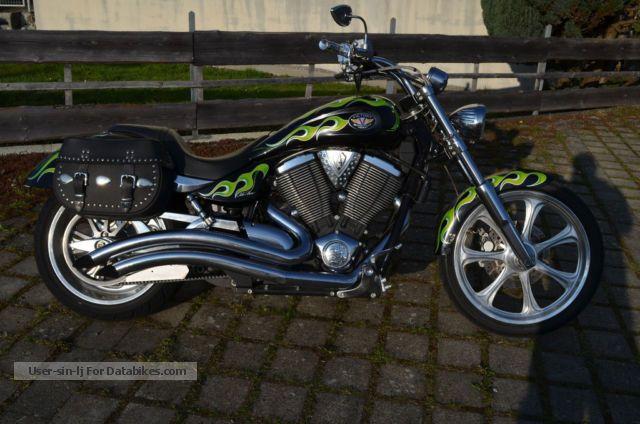2007 VICTORY  Entered Jackpot 107 dB noise level Motorcycle Chopper/Cruiser photo