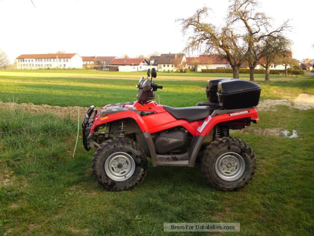 2004 BRP  Can Am Outlander 330 Motorcycle Quad photo