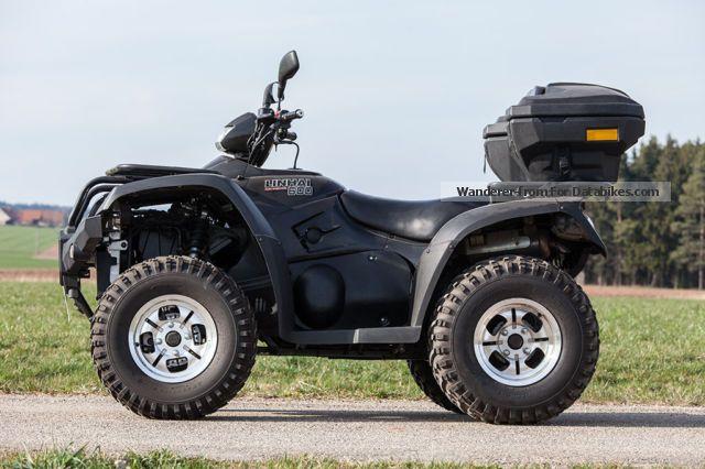 2010 Linhai  ATV 600 EFI 4x4 Motorcycle Quad photo