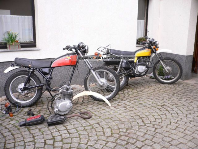 Honda  XL 250 S 1977 Vintage, Classic and Old Bikes photo