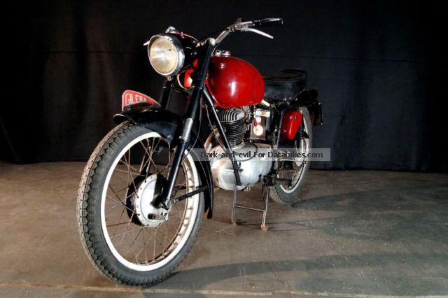 1956 Gilera  150 GT Motorcycle Racing photo