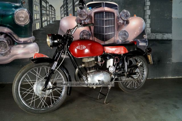 Gilera  150 GT 1955 Vintage, Classic and Old Bikes photo