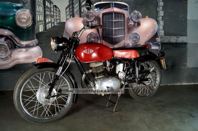 1955 Gilera  150 GT Motorcycle Racing photo