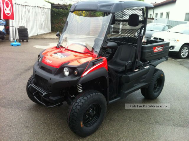 2009 Aeon  CUBE 350 4x4 Motorcycle Other photo