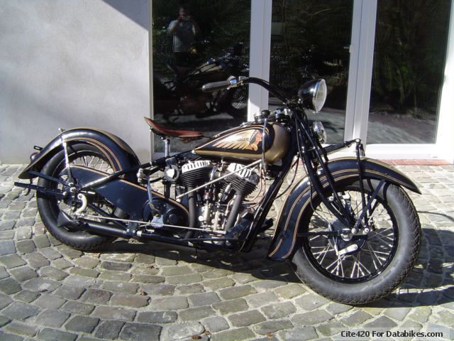 Indian  chief 1937 Vintage, Classic and Old Bikes photo