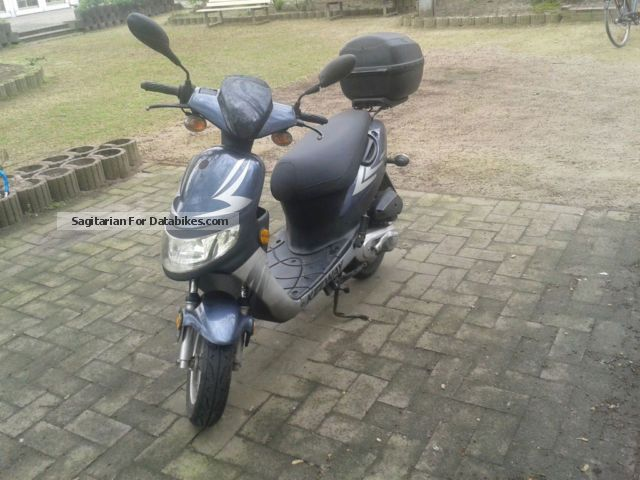 2007 Keeway  Hurycane Motorcycle Scooter photo