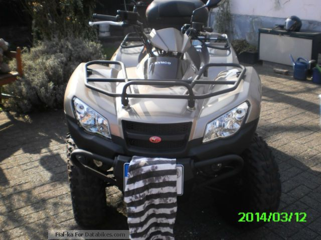 2011 Keeway  Kimco mxu 450i 4x4 Motorcycle Quad photo