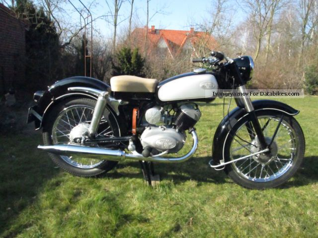 Zundapp  Zündapp Elastik 200 1955 Vintage, Classic and Old Bikes photo