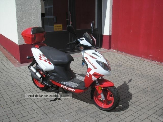2010 Keeway  F - Act Racing 50cc ----\u003e only 266 KM Motorcycle Scooter photo